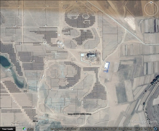Google Solar Map >> A Panda Solar Power Plant Google Earth Blog