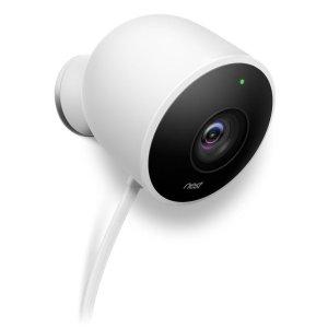 Nest Cam Outdoor Security Camera, Works with Amazon Alexa
