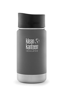 Klean Kanteen Insulated Wide Stainless Steel Coffee Mug with Café Cap 2.0