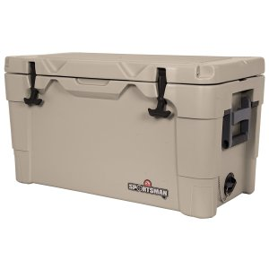 Igloo 49133 Sportsman Cooler, 55-Quart, Tan