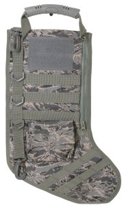 Ruck Up Tactical Christmas Stocking. Ruck Up Hanging Christmas Stockings by Osage River