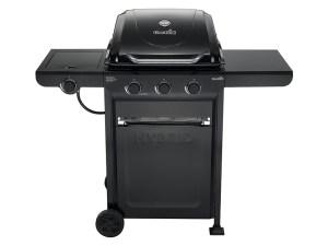 Char-Broil 463771015 Charcoal/Gas Hybrid 3-Burner Grill