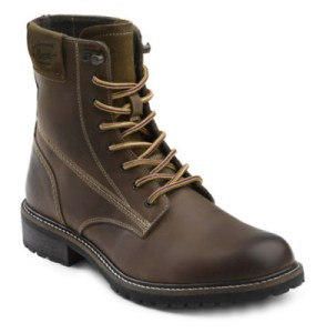 G.H. Bass & Co. Men's Brodie Genuine Leather Rugged Boot Dark Tan