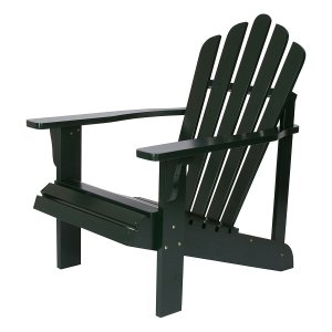 Shine Company Westport Adirondack Chair, Dark Green