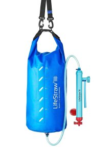 LifeStraw Mission Water Purification System, High-Volume Gravity-Fed Purifier for Camping and Emergency Preparednes