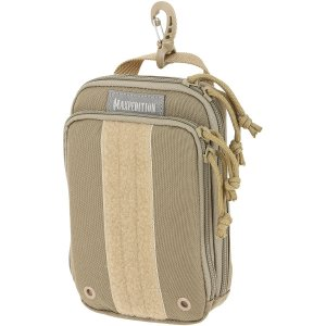 Maxpedition Ziphook Pocket Organizer, Large, Khaki