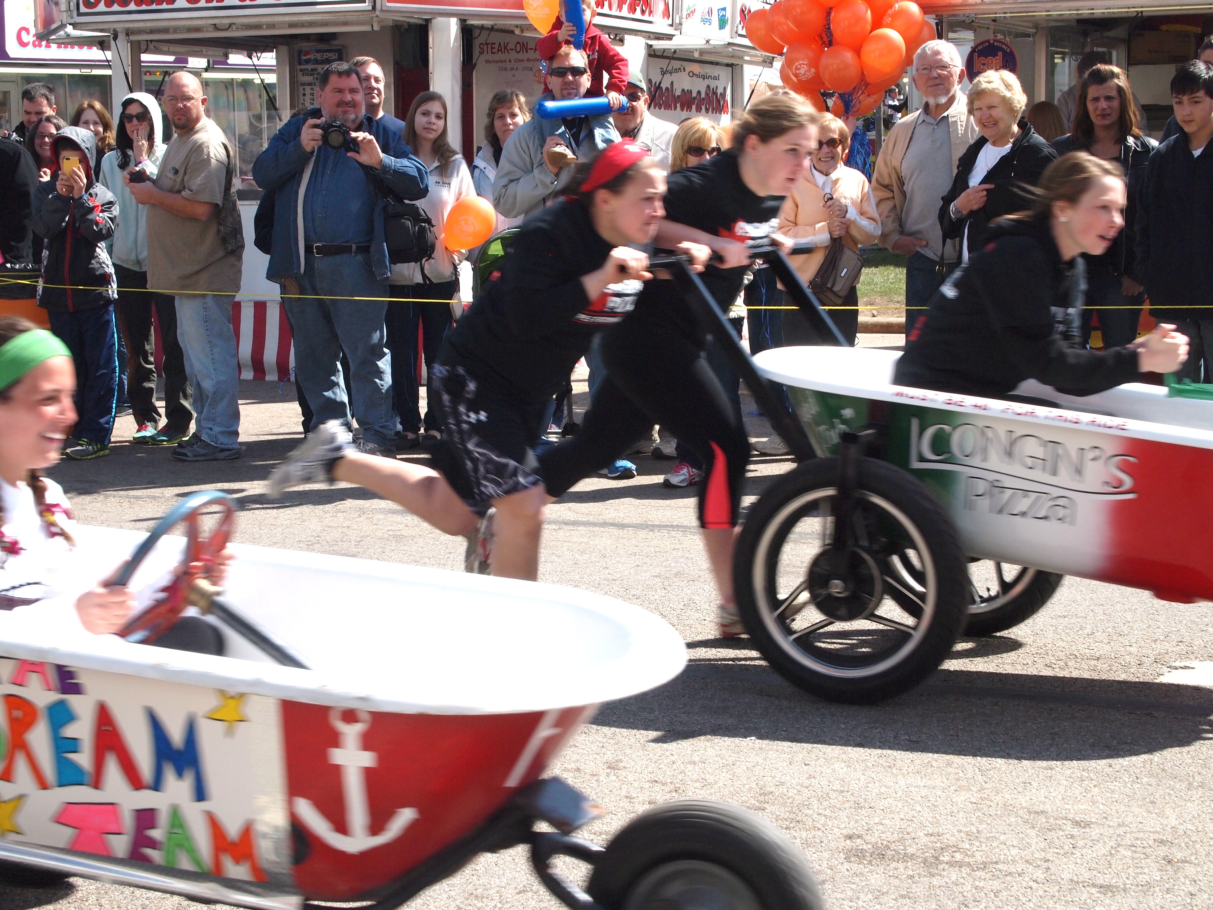 The Maple Festival Bathtub Race Turned On Some Good Clean