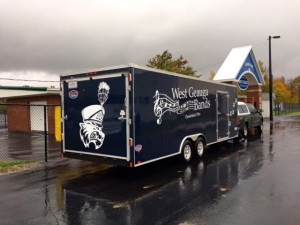 Submitted West Geauga High School Marching Band has a new instrument trailer thanks to the efforts of the WG Band Boosters.