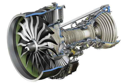 small resolution of ge9x engine cutaway