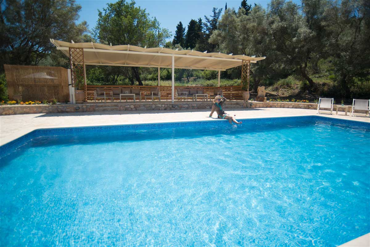 Gea Villas Lefkada Swimming Pool