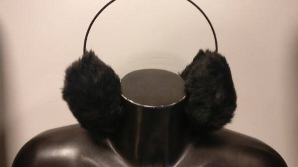 zwarte oorwarmers
