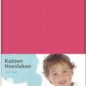 Briljant Baby Jersey Hoeslaken 70x150 Fuchsia