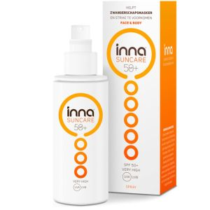 Inna Suncare SPF 50+ Face & Body Zonnebrand Spray