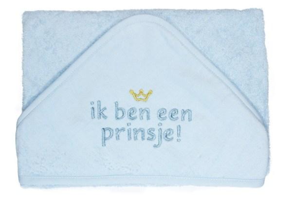 Ik ben een prinsje badcape