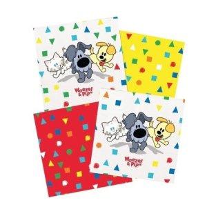Woezel en Pip Servetten Confetti