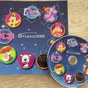 Spellenboek Studio 100 met DVD