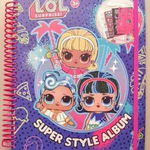 L.O.L. Surprise Super Style Album