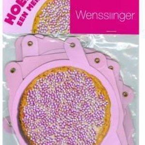 Hoera Een Meisje Wensslinger Beschuit