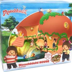 Monchhichi Speelhuis Deluxe Speelset