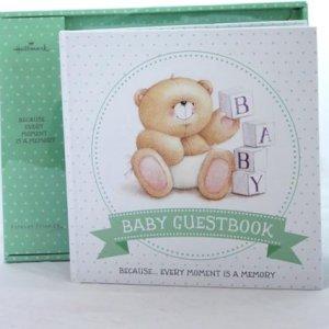 Hallmark Forever Friends Baby Gastenboek