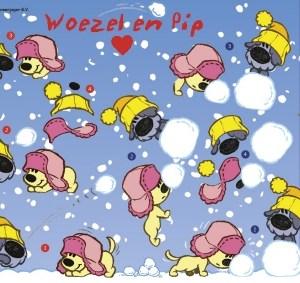 Woezel en Pip Sneeuwpret Sneeuwballen
