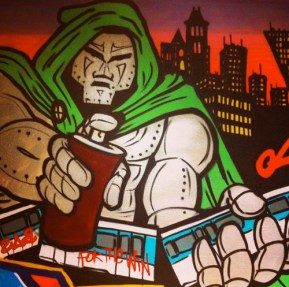 Graffiti doom