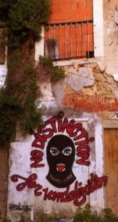No distinction for vandalization