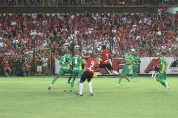 Torcida Xavante reencontrou o estádio Bento Freitas, no empate com o Ypiranga. Foto: Jonathan Silva