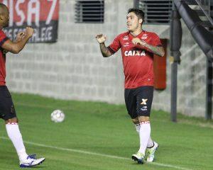 Bruno Lopes marcou o gol Xavante no amistoso diante do São José. Foto: Jonathan Silva