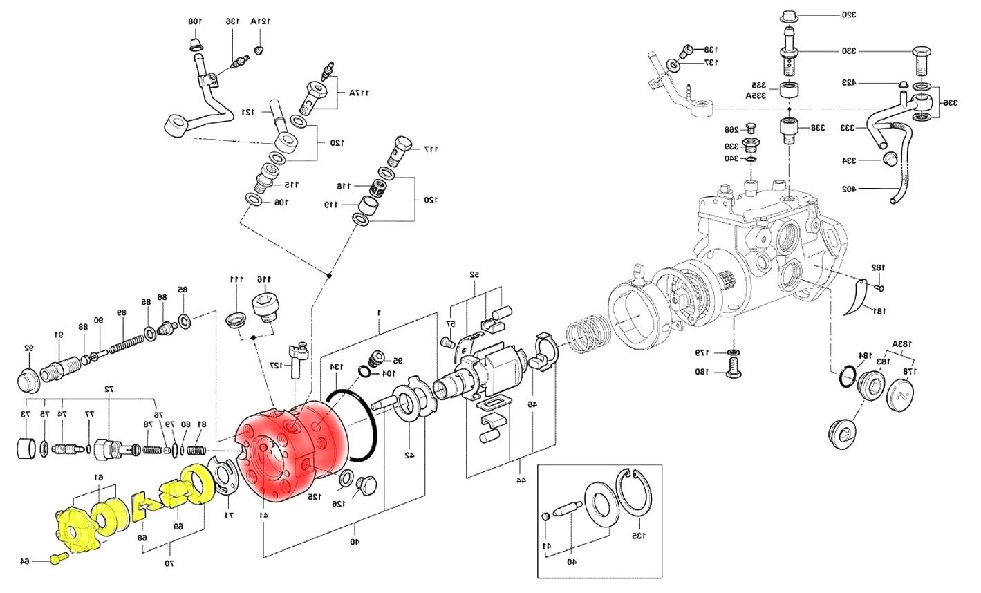 Cav Einspritzpumpe Explosionszeichnung