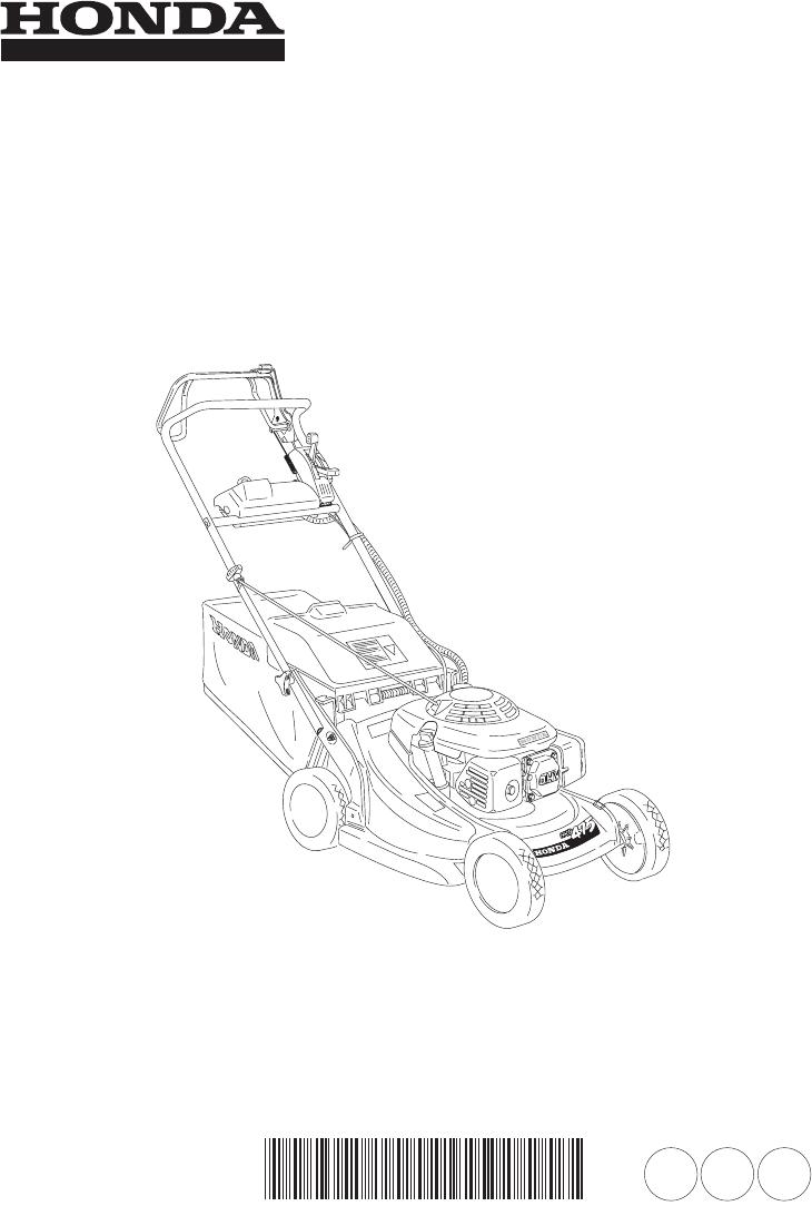 Handleiding Honda HRB475 (pagina 1 van 88) (Espanôl