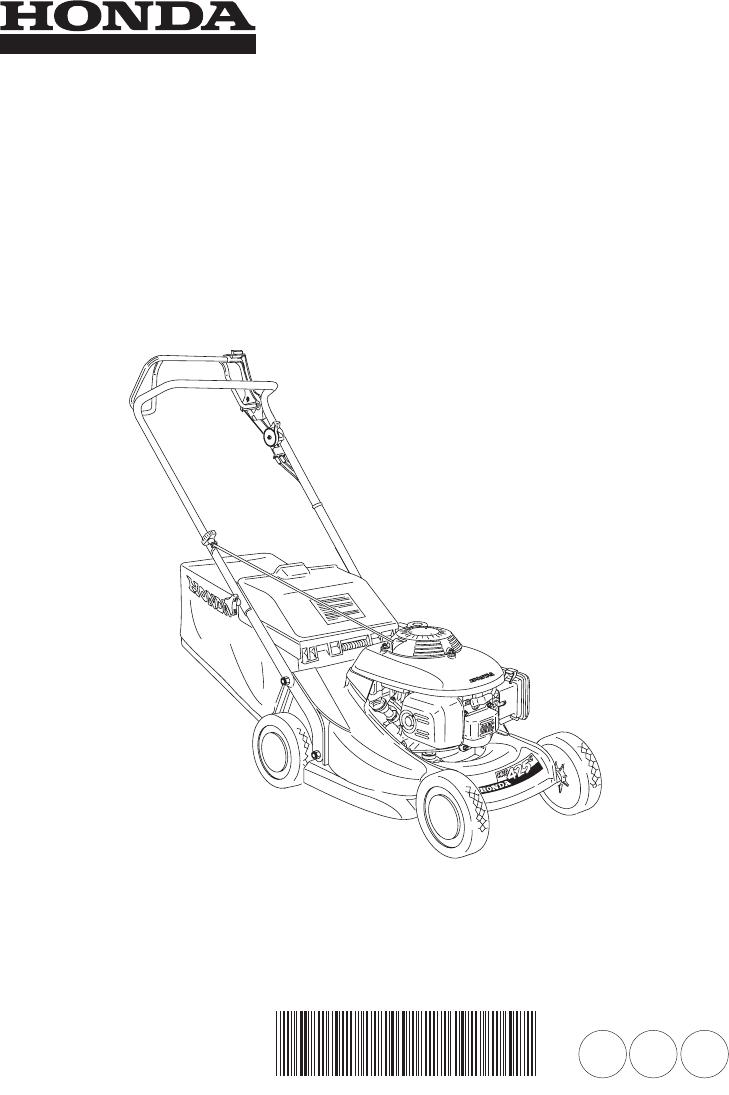 Handleiding Honda HRB425C (pagina 1 van 84) (Espanôl