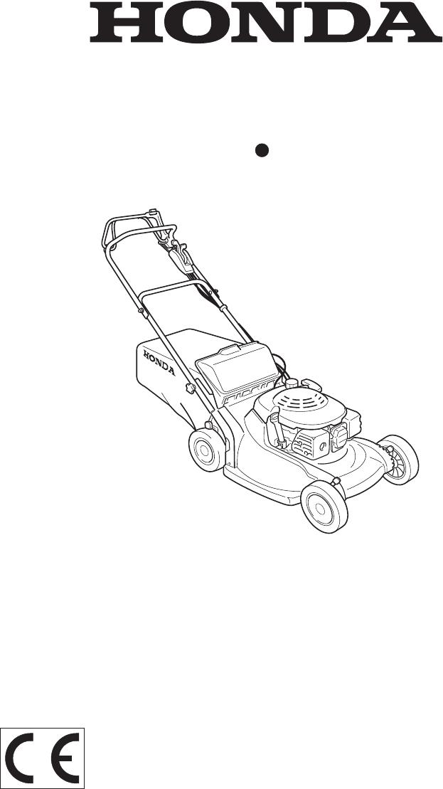 Handleiding Honda HRB536C (pagina 1 van 63) (Nederlands)