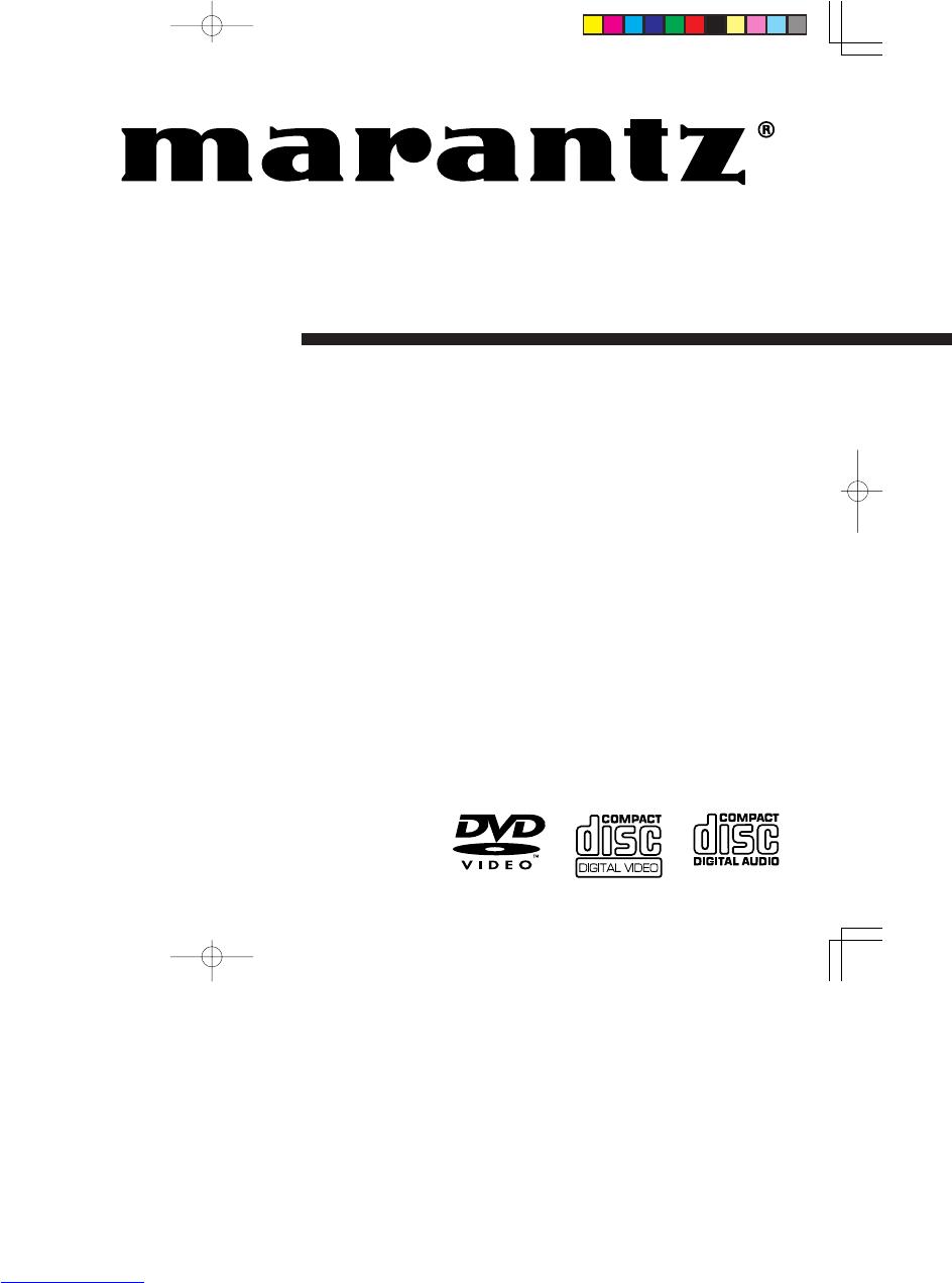 Handleiding Marantz er 2500 (pagina 1 van 47) (English)