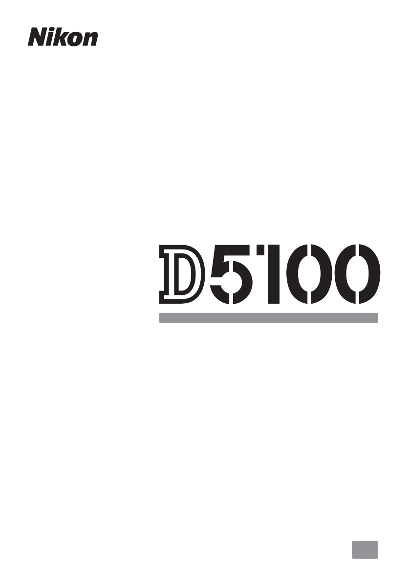 Handleiding Nikon D5100 (pagina 1 van 260) (English)