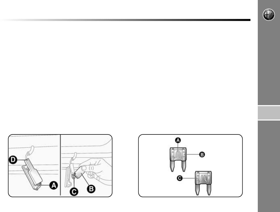 Handleiding Alfa Romeo Mito (pagina 188 van 258) (Nederlands)