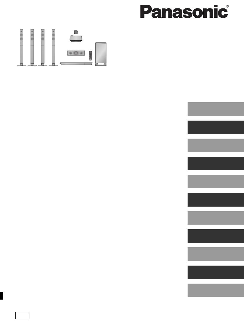 Handleiding Panasonic SC-BTT880 (pagina 1 van 84) (Dansk
