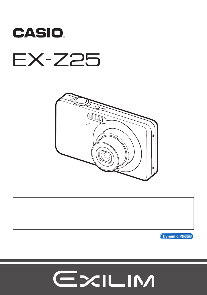 Handleiding Casio EX-Z25 (pagina 1 van 193) (English)