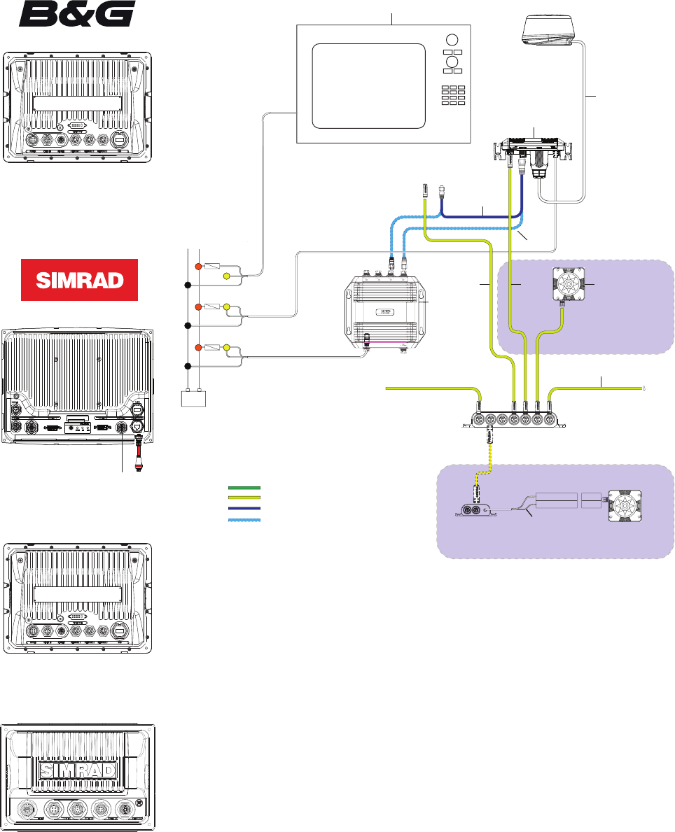 hight resolution of wiring network a simrad