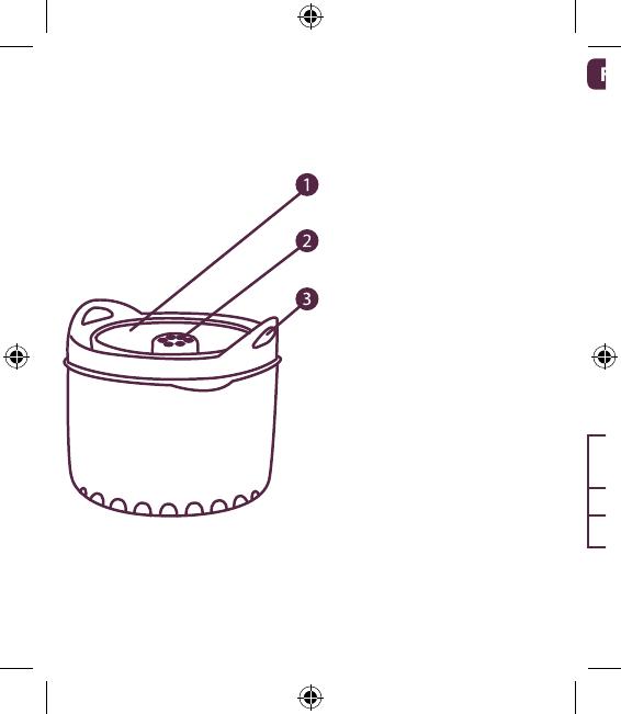 Handleiding Beaba Rijst-pastakoker original (pagina 2 van