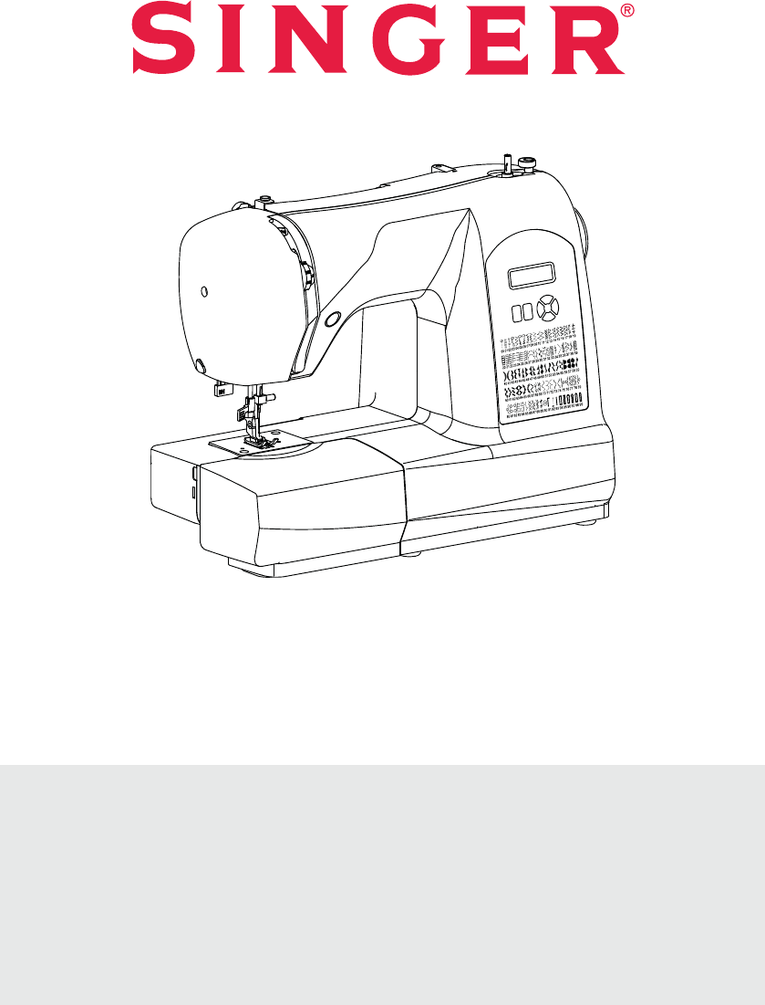 Handleiding Singer 6660 Starlet (pagina 1 van 76) (English