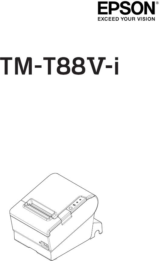 Handleiding Epson TM-T88V (pagina 1 van 100) (Deutsch