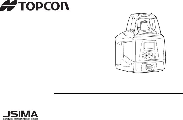 Handleiding Topcon RL200 1S (pagina 1 van 60) (English)