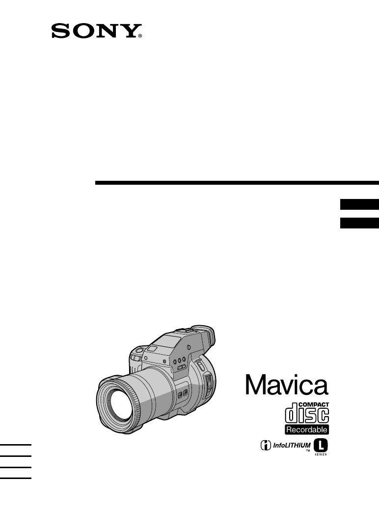 Handleiding Sony mvc-cd1000 (pagina 1 van 156) (Italiano