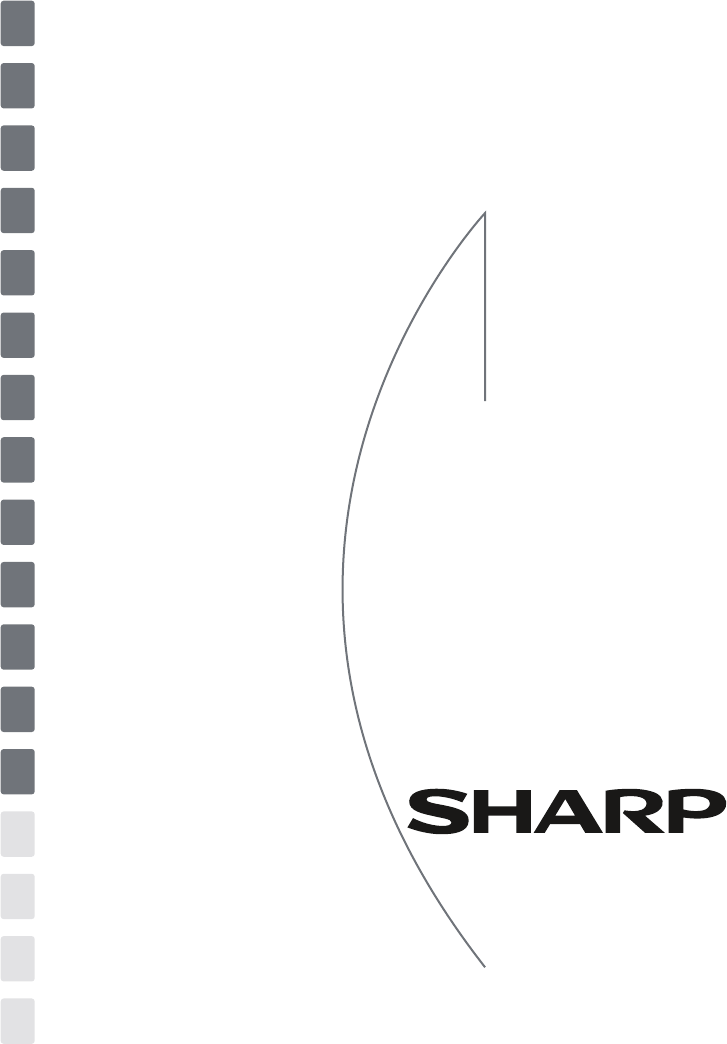 Handleiding Sharp SJ-S1251E0W-EU (pagina 1 van 140) (Dansk