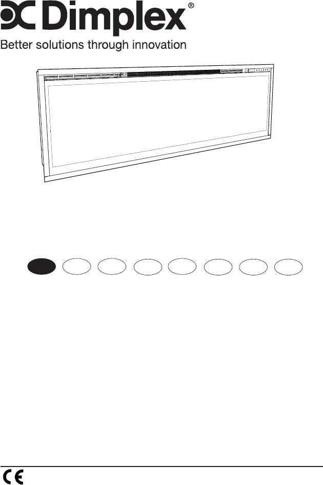 Handleiding Dimplex Ignite XL 50 (pagina 1 van 121