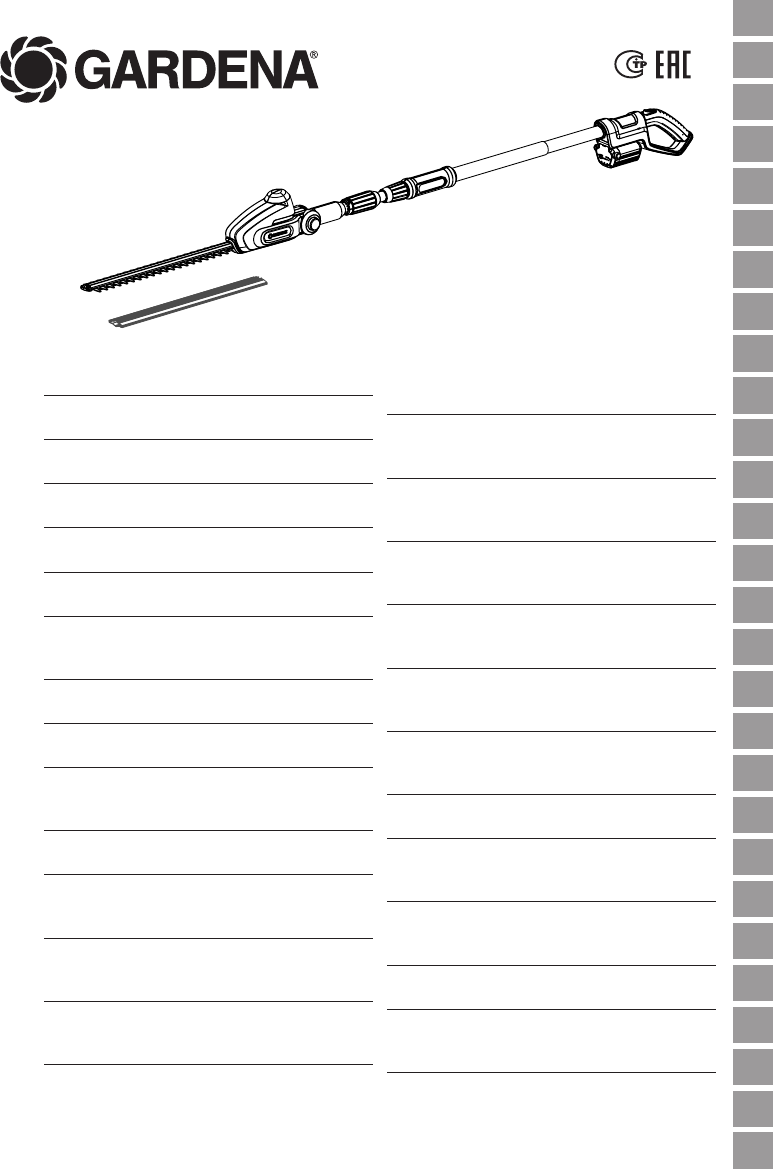 Handleiding Gardena THS Li-18-42 Art. 8881 (pagina 1 van