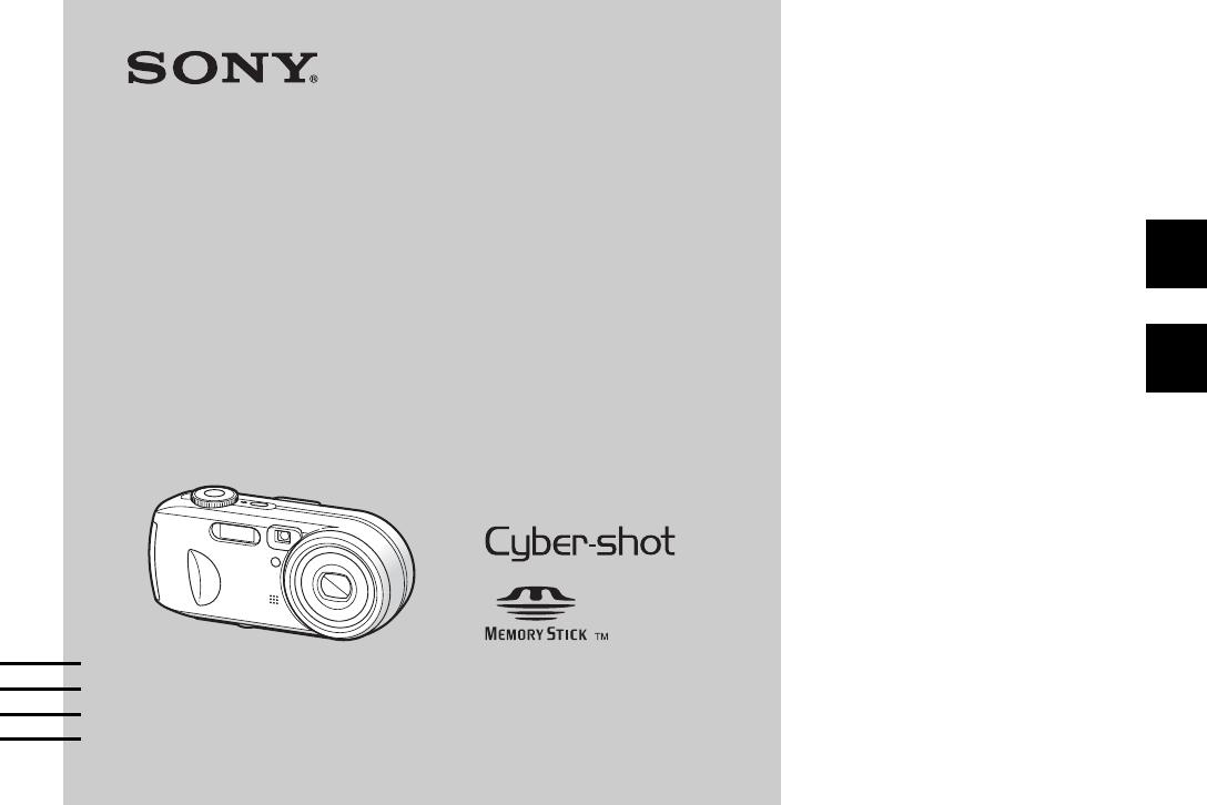 Handleiding Sony Cyber-SHOT DSC-P93 (pagina 1 van 264