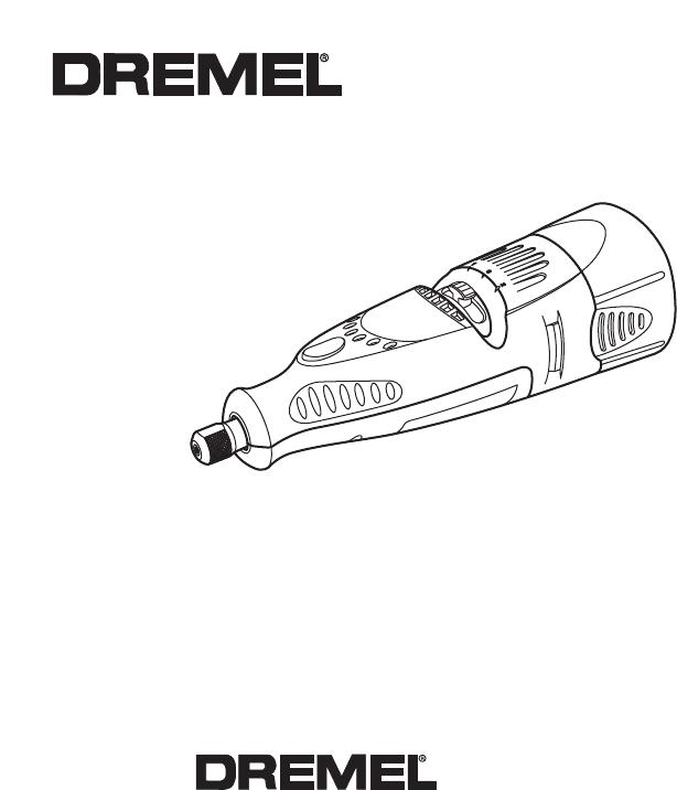 Handleiding Dremel 760 (pagina 1 van 48) (English, Espanôl)