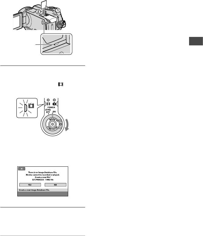Handleiding Sony DCR-SR35 (pagina 13 van 36) (English)